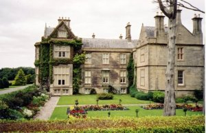 Rear view of the Muckross House
