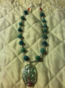 Necklace I designed, inspired by one of my favorite fairy tale princesses.